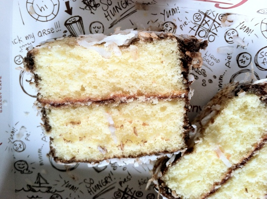 Lamington Close-up